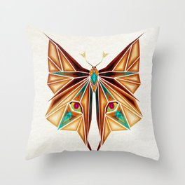 fox or butterfly?  Throw Pillow