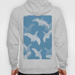 White Birds Against The Blue Sky #decor #society6 #homedecor Hoody