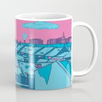 budapest Mugs featuring Budapest by Zsolt Vidak