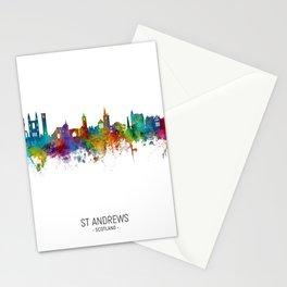 St Andrews Scotland Skyline Stationery Cards