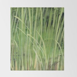 seagrass Throw Blanket