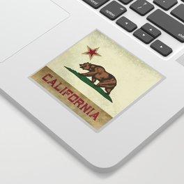 Vintage California Flag Sticker