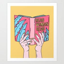 Read woman read Art Print