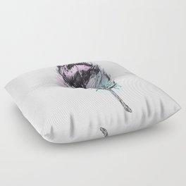 AP078 Watercolor feather Floor Pillow