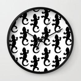 Black Lizard Wall Clock