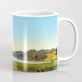 Anders Lunde Danish Harvest Landscape Coffee Mug