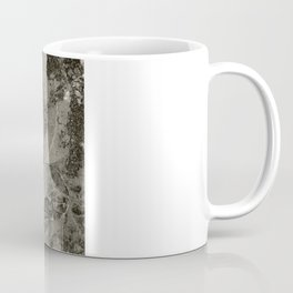 Fossilized Shells - Black & White Coffee Mug