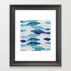 Winter Hills Framed Art Print