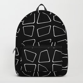 Changing Perspective - Simplistic Black and white Backpack