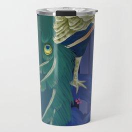 peacock Travel Mug
