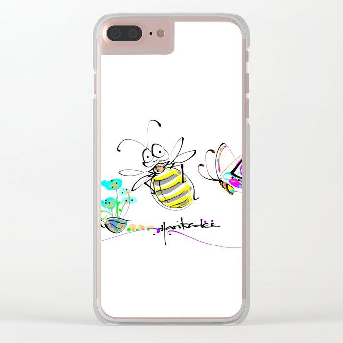 design 12 Clear iPhone Case