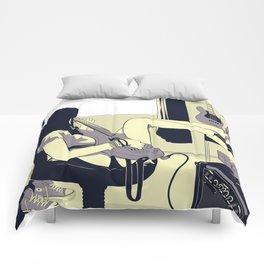 Bass Girl Comforters