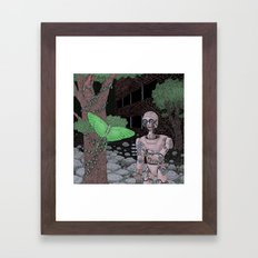 almost human Framed Art Print