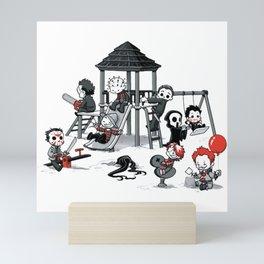 Horror Park Mini Art Print