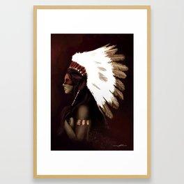 Native American  Framed Art Print