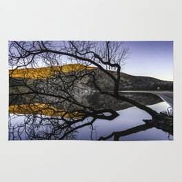 Lough Tay, Wicklow Mountains Rug