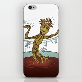 Guardians of the Galaxy - Dancing Baby GROOT iPhone Skin