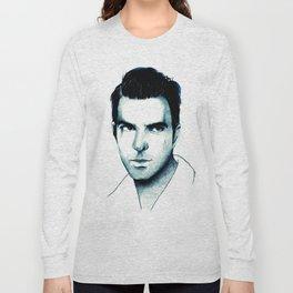 Zachary Quinto Long Sleeve T-shirt