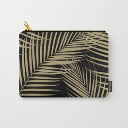 Palm Leaves - Gold Cali Vibes #2 #tropical #decor #art #society6 Carry-All Pouch