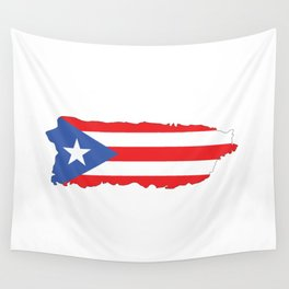 Puerto Rico Colors Wall Tapestry