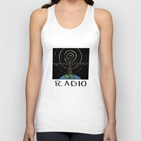 radio Tank Tops featuring Radio by Ken Coleman
