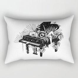 Piano, Melody of life Rectangular Pillow