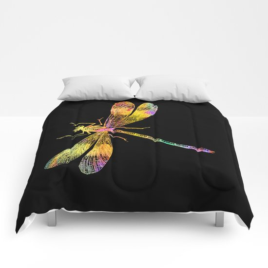 Dragonfly QW Comforters