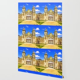 Antrim Castle, Ireland. (Painting) Wallpaper