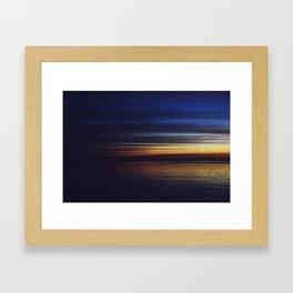 Ruby Sun Framed Art Print