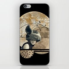 Moon Maiden iPhone & iPod Skin