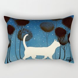 THE POETRY OF A NIGHT by Raphaël Vavasseur Rectangular Pillow