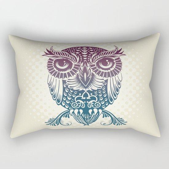 Baby Egyptian Owl Rectangular Pillow