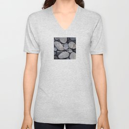 Carve Your Blessings in Stone Unisex V-Neck
