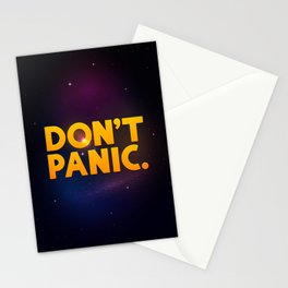 Don't Panic. Stationery Cards
