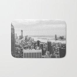 NYC (black&white) Bath Mat