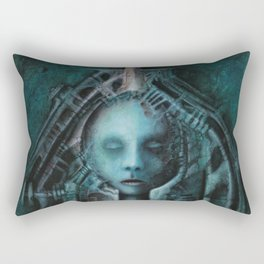 Bullet acryl on canvas 100 x 80 cm Rectangular Pillow