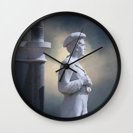 Maritime Warrior Wall Clock
