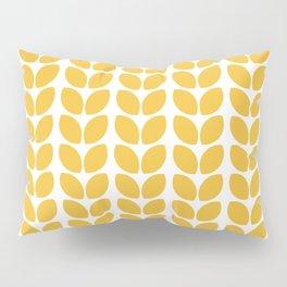 leaves - yellow Pillow Sham