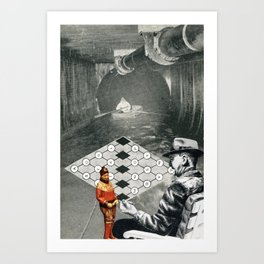 Loves Past And The One That Got Away Art Print