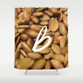 Recettes du Bonheur - foodies Shower Curtain