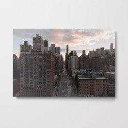 2nd Avenue Metal Print