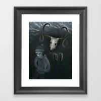 Hear No Evil Framed Art Print