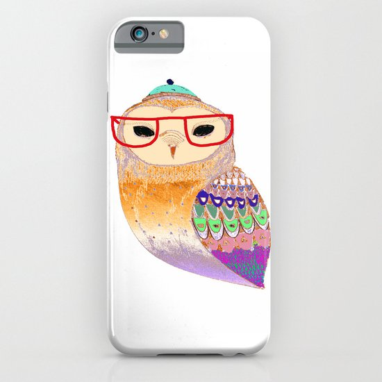 Pretty Awesome owl iPhone & iPod Case