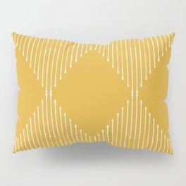 Geo / Yellow Pillow Sham