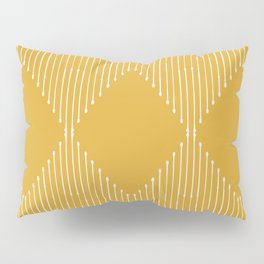 Geo / Yellow Pillow Sham