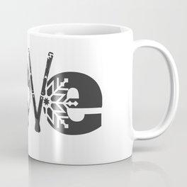 ski snow winter gift skiing winter sports skier Coffee Mug