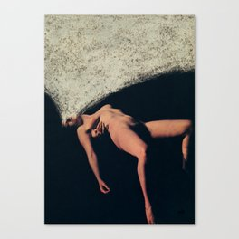 Withdrawing Canvas Print