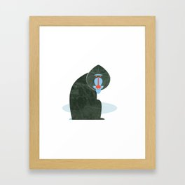Mandrill Framed Art Print
