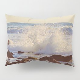 Crashing Shore Pillow Sham