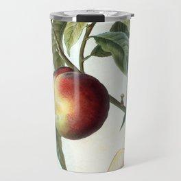 Peach on a branch Travel Mug